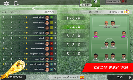 Mobile Soccer Dream League screenshots 4
