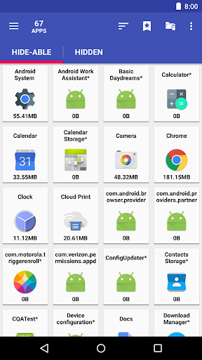 AppMgr III (App 2 SD, Hide and Freeze apps) android2mod screenshots 2