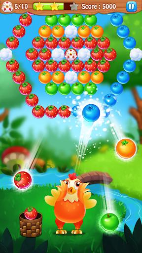 Chicken pop - Fruits bubble splash 1.0.7 screenshots 6