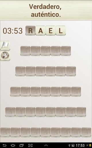 PALABRAS - Juego de Palabras en Espau00f1ol android2mod screenshots 7