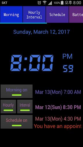 Speaking Alarm Clock apktram screenshots 4