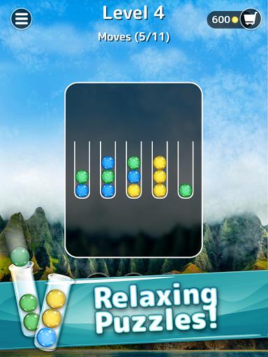 Ballscapes: Ball Sort Puzzle & Color Sorting Games  screenshots 7
