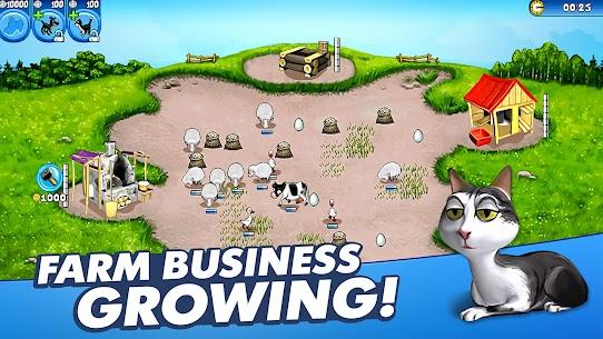 Farm Frenzy Free: Time management games offline 🌻 5