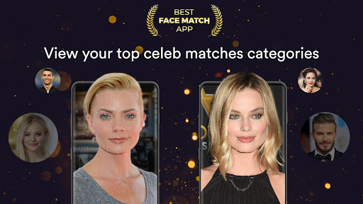 Face Match: Celebrity Look-Alike, Photo Editor, AI 1.4 Screenshots 1