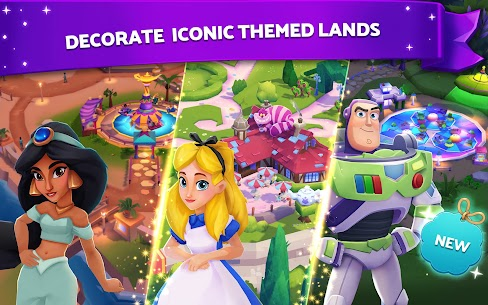 Disney Wonderful Worlds (MOD, Unlimited Money) For Android 1