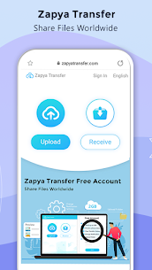 Zapya for PC – File Transfer, Share Apps & Music Playlist 3