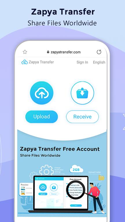 Zapya - File Transfer, Share Apps & Music Playlist poster 3