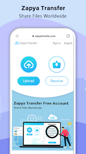 Zapya - File Transfer, Share Apps & Music Playlist 6.0 (US) Screenshots 3