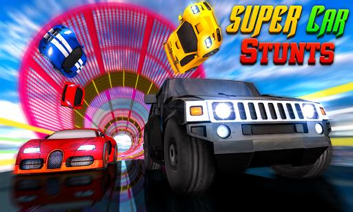 Code Triche Super Car Stunts : Impossible Track Challenge 2020 APK MOD (Astuce) screenshots 1