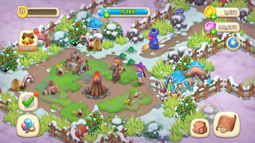 Magicabin: Home Design & Colorful adventure 1.1.5 screenshots 6