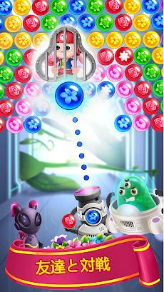 バブルシューター - フラワーゲームのおすすめ画像4