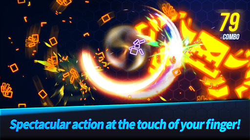 Ninja Slice Master : Stickman Neon Action 1.1.7 screenshots 1