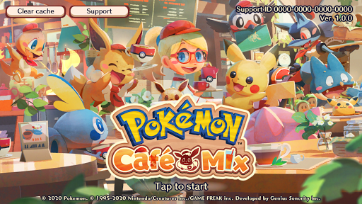 Pokémon Café Mix screenshots 1