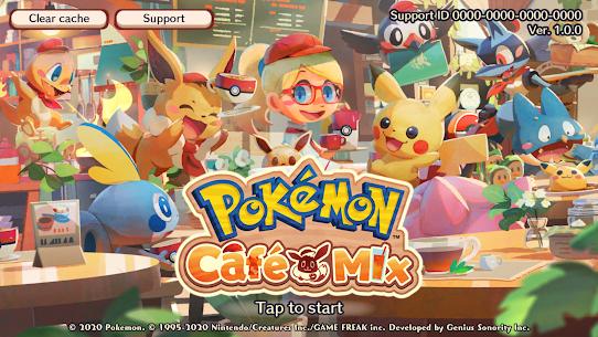 Pokémon Café Mix Latest Mod Apk 1.100.1 [Unlimited Money] 1