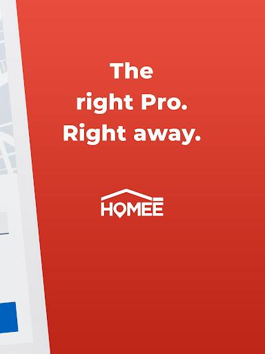 HOMEE: 24/7 Handyman, Plumber, Electrician & HVAC 6.0.1 Screenshots 9