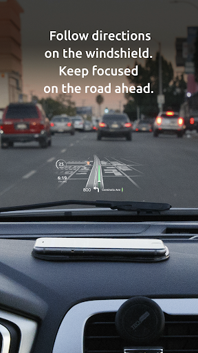 HUDWAY Go u2014 GPS Navigation & Maps with HUD  Screenshots 2