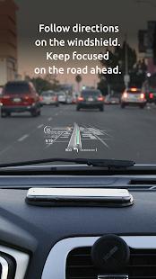 HUDWAY Go u2014 GPS Navigation & Maps with HUD 3.7.7 Screenshots 2