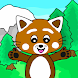 Pukkins Camping - Roligt lärande spel för barn
