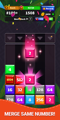 Drop Numbers 2048  screenshots 2