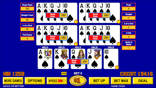 Video Poker - Classic Casino Games Free Offline 1.5.0 screenshots 3