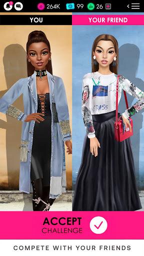 GLAMM'D - Style & Fashion Dress Up Game apktram screenshots 7