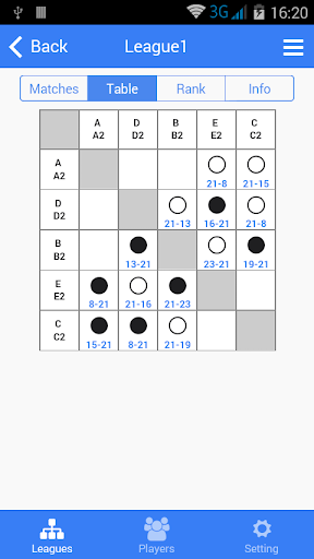 badminton tournament maker screenshot 1