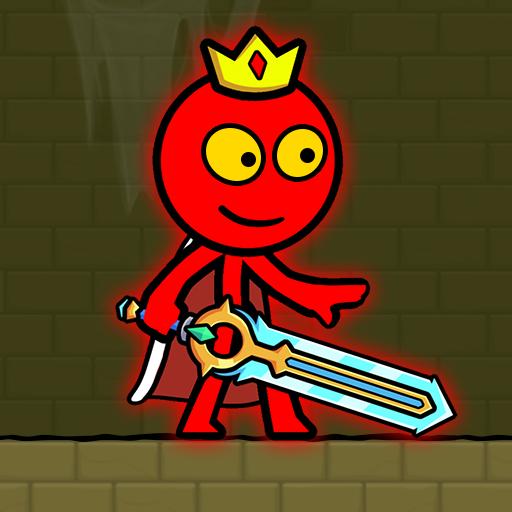 Red Stickman : Animation vs Stickman Fighting