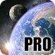 Earth & Moon in HD Gyro 3D PRO Parallax Wallpaper