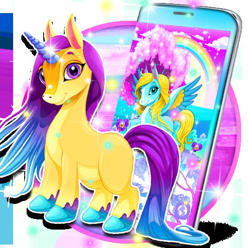 Unicorn Live Wallpaper Aplikasi Di Google Play