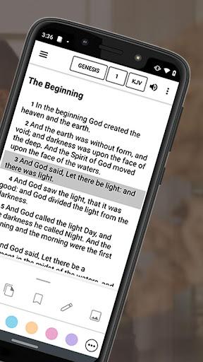 Bible Offline App Free + Audio, KJV, Daily Verse 8.5.4 Screenshots 2