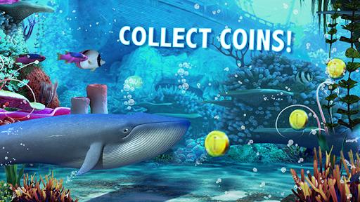 Blue Whale Simulator - Deep Ocean 1.1.5 screenshots 5