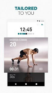 adidas Training app - Fitness, Home & Gym Workout Screenshot