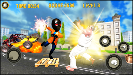 Super Hero fight game : spider boy fighting games 1.0.3 screenshots 4