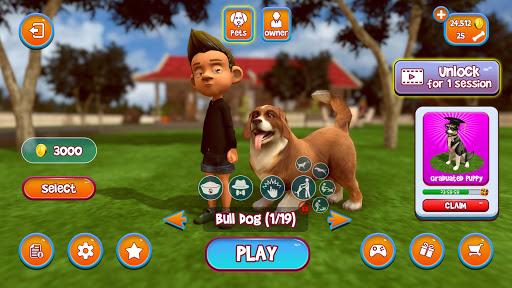 Virtual Puppy Simulator - Pet Dog Family Adventure 2.9 screenshots 3