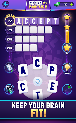 Words of Fortune: Free Play Word Search Game Apkfinish screenshots 11