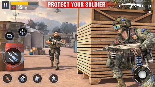 Real Commando Secret Mission Mod Apk (God Mode/Dumb Enemy) 5