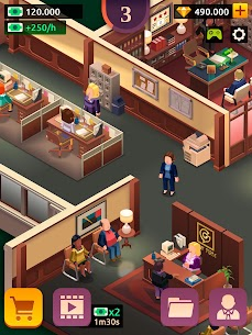 Law Empire Tycoon MOD APK 1.9.1 (Unlimited Money) 11