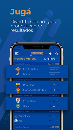FanWin: Prode y Pencas Deportivas screenshots 2