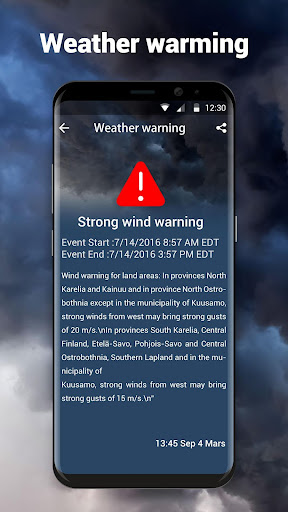 Local Weather Forecast & Real-time Radar checker 16.6.0.6325_50165 Screenshots 3
