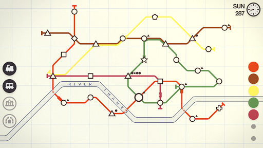 Mini Metro Varies with device screenshots 2