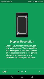 Screen Resolution Changer: Display Size & Density 2.0 Screenshots 2