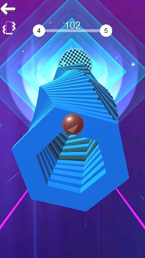Color Stack Ball 3D: Ball Game run race 3D - Helix 8 screenshots 4