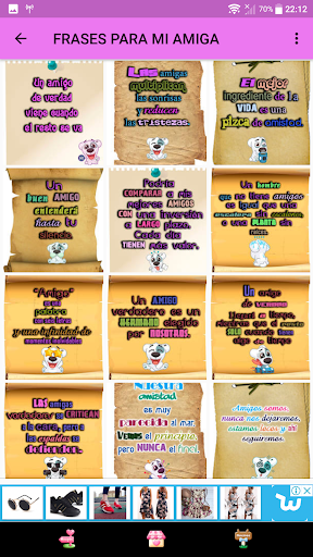 Frases para Amigas screenshots 1