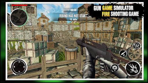 Gun Game Simulator: Fire Free u2013 Shooting Game 2k21 1.0.4 screenshots 9