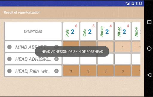 Homoeopathic Repertorium 3.8.9.6 Screenshots 4