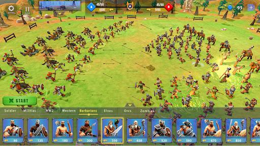 Epic War Simulator - WW2 Battle Strategy Games  screenshots 2