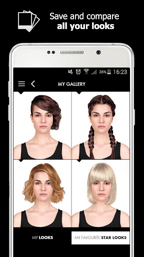 Style My Hair: Discover Your Next Look modavailable screenshots 14