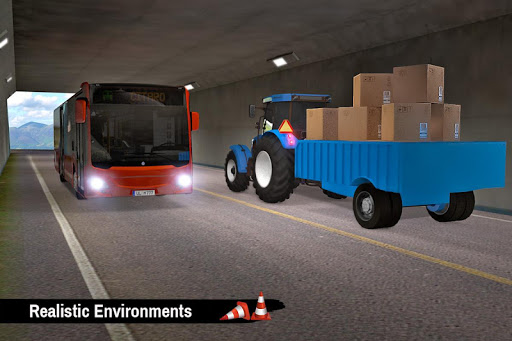Tractor Trolley Parking Drive - Drive Parking Game 2.6 Screenshots 14
