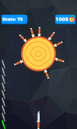Knife shooter- hit the target with knife. Apkfinish screenshots 6