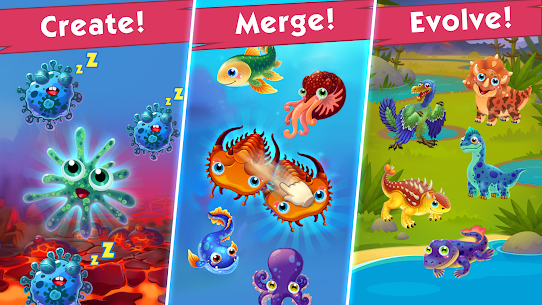 Game of Evolution: Idle Clicker & Merge Life 1
